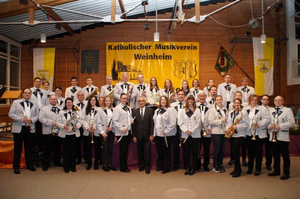 Gruppenbild KMV Weinheim 2016